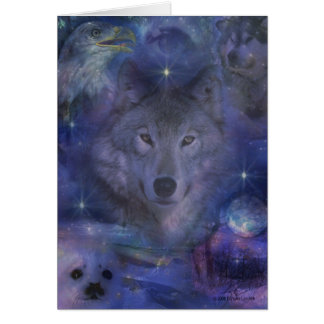 Wolf - Leader of the Pack Card