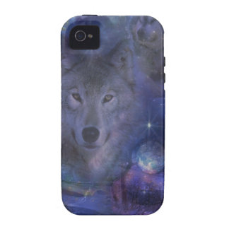 Wolf - Leader of the Pack Case-Mate iPhone 4 Cases