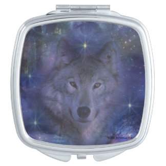 Wolf - Leader of the Pack Compact Mirrors