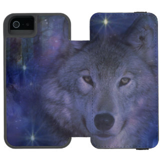Wolf - Leader of the Pack iPhone SE/5/5s Wallet Case