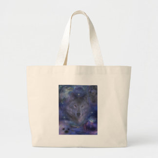 Wolf - Leader of the Pack Jumbo Tote Bag