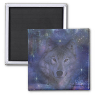 Wolf - Leader of the Pack Magnet
