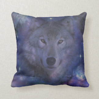 Wolf - Leader of the Pack Pillows