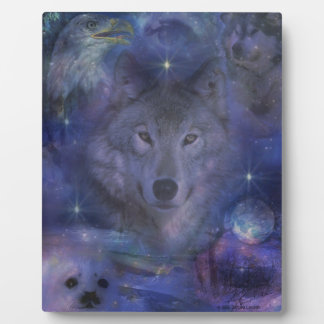 Wolf - Leader of the Pack Plaque