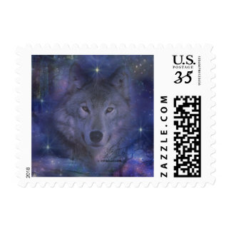 Wolf - Leader of the Pack Postage