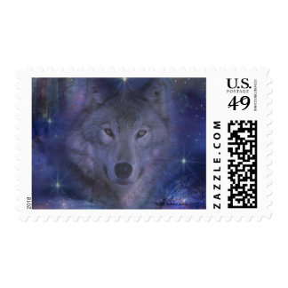 Wolf - Leader of the Pack Postage Stamp