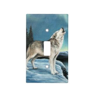 Wolf Light Switch Plate