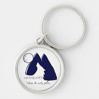 Wolf Logo Keychain