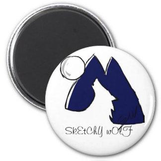 Wolf Logo Magnet