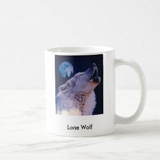 wolf, Lone Wolf Coffee Mug