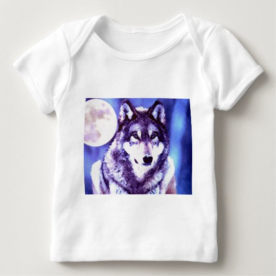 Wolf Look - Lonely Wolf Baby T-Shirt
