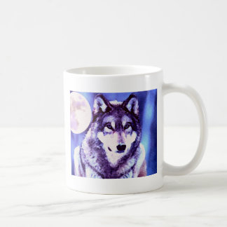 Wolf Look - Lonely Wolf Classic White Coffee Mug
