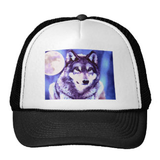 Wolf Look - Lonely Wolf Trucker Hat