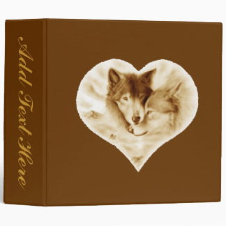 Wolf Love Binder
