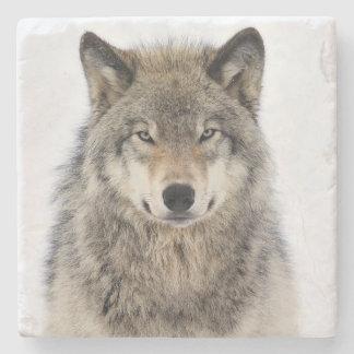 Wolf Love Stone Coaster