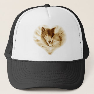Wolf Love Trucker Hat