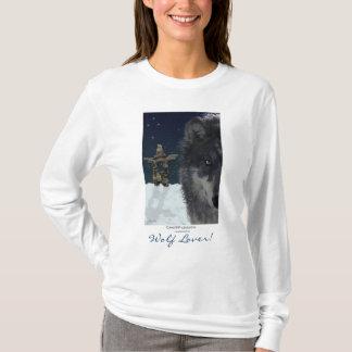 WOLF LOVER~ Grey Wolf Hoodie & Tops