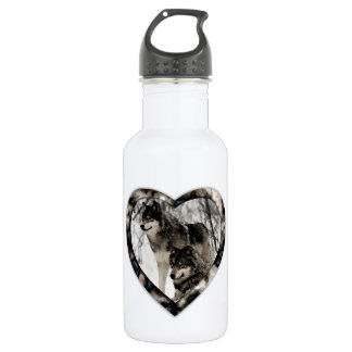 Wolf Lover Stainless Steel Water Bottle