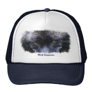 Wolf Lover Wildlife Alpha Male Trucker Cap Trucker Hat