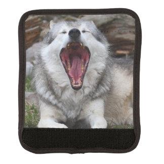 wolf luggage handle wrap