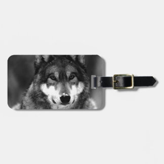 Wolf Luggage Tags