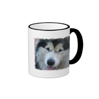 Wolf Malamute Picture Coffee Mug