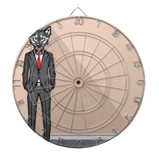 Wolf Man vector Dart Board