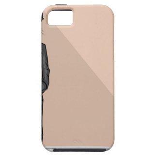Wolf Man vector iPhone SE/5/5s Case