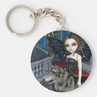"""""""Wolf Manor"""" Keychain"""