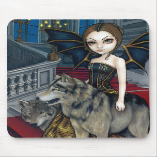 """Wolf Manor"" Mousepad"