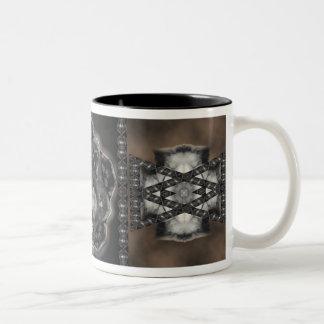Wolf Medicine Two-Tone Coffee Mug