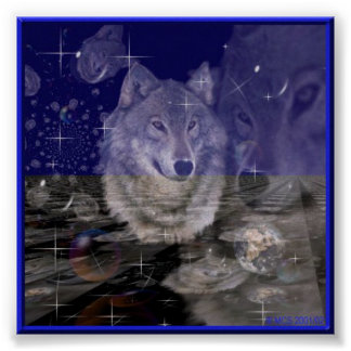 Wolf -misterious Creature- I Poster