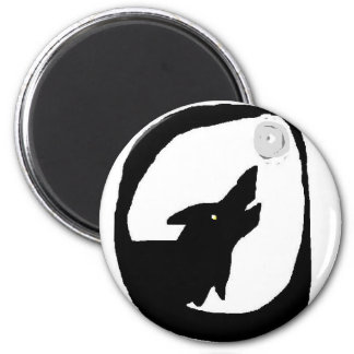 wolf moon (2) magnet