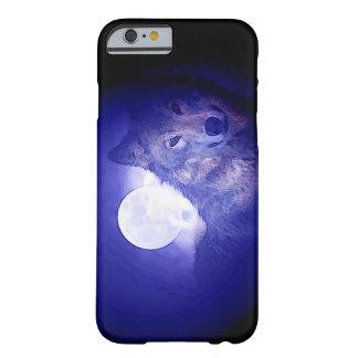 Wolf, Moon & Blue Night iPhone 6 Case