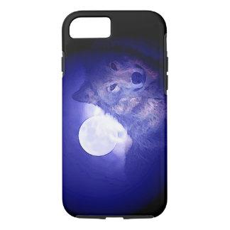Wolf, Moon & Blue Night iPhone 7 Case