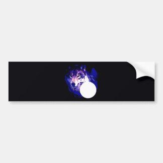 Wolf Moon Bumper Stickers
