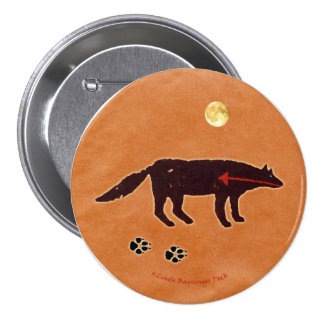 Wolf Moon Buttons