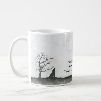 """Wolf Moon"" Coffee Mug"