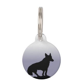 Wolf Moon Pet Tag