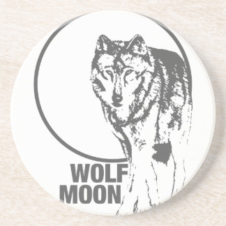 Wolf Moon - howling Coaster