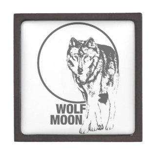 Wolf Moon - howling Jewelry Box