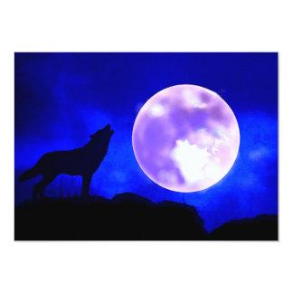 Wolf & Moon Invitation