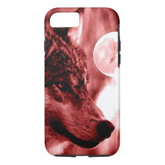 Wolf & Moon iPhone 7 Case
