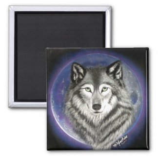 Wolf Moon Magnet