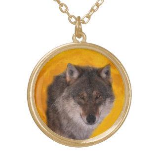 Wolf moon pendants