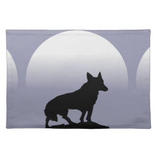Wolf Moon Place Mat