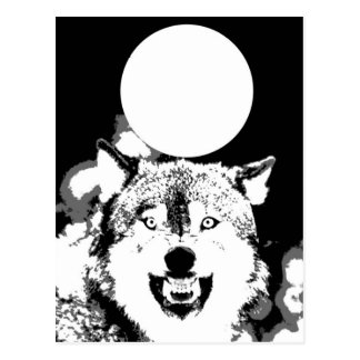 Wolf & Moon Postcards