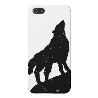 Wolf Moon Silhoutte iPhone 5 Cover