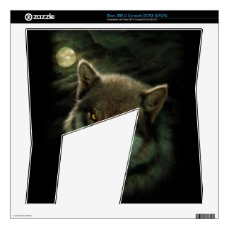 Wolf moon skin for xbox 360 s