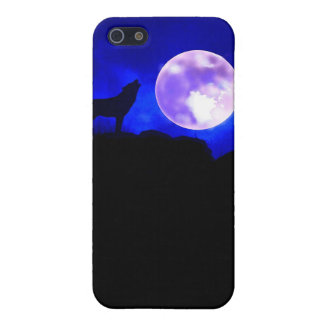 Wolf & Moon Speck Case iPhone 5 Cover